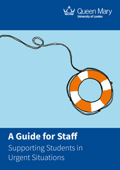 Staff Guide - Supporting Students in Urgent Situations